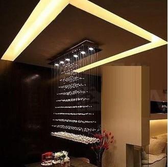 Buy 100cm Large Size Luxury New Modern Design Crystal lighting Light ...