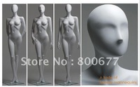Display standing fashion female mannequin
