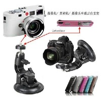 Car Window Suction Cup Mount Tripod Holder for Camera 900125-XLJ-018   free shipping