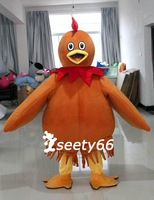 New Arrival High Quality Cock Rooster Mascot Costume Cartoon Fancy Dress For Sale # C205