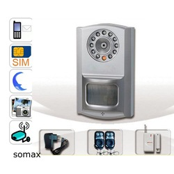 Freeshipping,GSM Camera with PIR Detector and Motion Detection(China (Mainland))