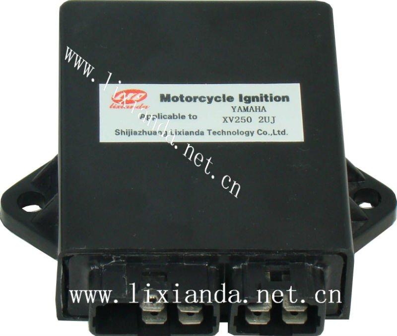 Intelligent Ignition CDI Unit XV250 2UJ for Motorcycle YAMAHA # LXD-2UJ(China (Mainland))