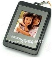free shipping 1.5 LCD Digital Photo Picture Frame w keychain 8MB #9913