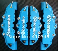 Blue 3D Brembo ABS Front+Rear Disc Brake Caliper Cover 4pcs