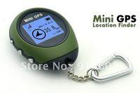 Portable Handheld Keychain Outdoor Sport Travel Mini GPS,PG03, freeshipping, dropshipping