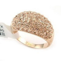 New Wholesale Hot Fashion Jewelry Genuine SwarovskiCrystal woman's ring Diamand Rings size:6,7,8,9,10,11,12