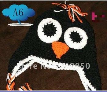 Baby Boy Owl Beanie Hat