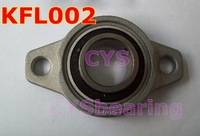 15mm  Zinc Alloy mounted bearings KFL002  pillow block bearing housing