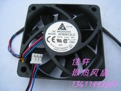 The new Delta 6CM cooling Fan 6013 12V 0.12A Double ball AFB0612LC 3-wire terminal cpu cooler heatsink axial Cooling Fan(China (Mainland))