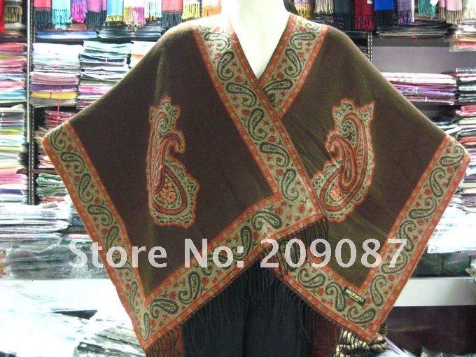 20 PCS 100% Pashmina Women's shawl scarf 160cm*145cm(China (Mainland))