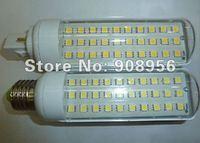 2012 New hot Pure/ warm white Spotlight SMD 5050 30LEDs 600LM E27/ E14/ G24 AC85~220V 6W LED 5050 SMD light 10pcs free shipping