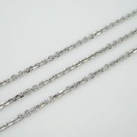 Hot selling Free shipping hight quality 30 inch 5mm men jewelry chain necklace fashion silver necklace