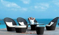 2012 Outdoor Garden PE Rattan Furniture Set,YSF-N100,OEM