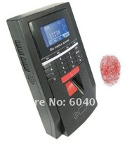 128 x 64 LCD Screen with backlight, 2-in-1 Access Control Keypad + Fingerprint Time Attendance Recorder Systems