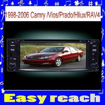 1996-2004 Car DVD Player GPS Navi Bluetooth Toyota Camry /vios/Rav4 backview RDS steering weel control GPS Navi BT mp3 music