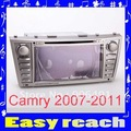 "SP129 Car DVD player GPS RDS daul zone handfree call  8"" Car DVD Player GPS Navi Bluetooth Toyota Camry  2010"