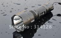 UltraFire C8 SST-50 5 Mode 900Lumens Memory LED Flashlight 1*18650(Battery exclude)