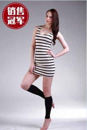 Free shipping!5pairs/lot&,beauty sliming clothes, beauty products,leg,sock,NY031,black(China (Mainland))