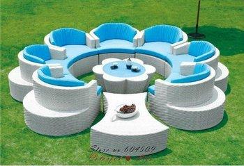 PE rattan outdoor furniture,Garden Sofa,YSF-N090,OEM