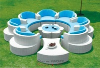 PE rattan outdoor furniture,Garden Sofa,YSF-N090,OEM