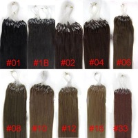 mirco loop remy virgin malaysia human hair extension