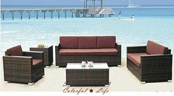 PE rattan outdoor furniture,Garden Sofa,YSF-N095B,OEM