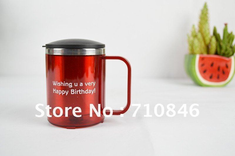 fashional insulation coffee mug/stainless steel coffee cups with lids(China (Mainland))
