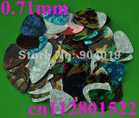 Lots of 20 pcs new Blank medium 0.71 mm guitar picks B Assorted colors