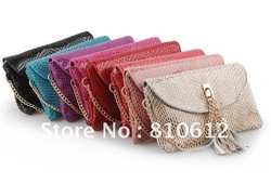 100% Genuine leather handbags,Fine Snakeskin women's bag,Fashion shoulder bag,Elegant evening bag(China (Mainland))