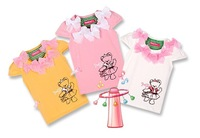 Free shipping 12pcs/lot The latest children T-shirt baby wear, kids t shirts nice jumping beans t-shirts,have 6sizes