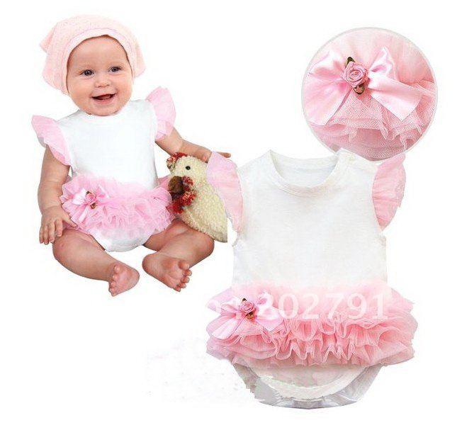 Как сшить платье боди для малышки 95