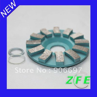 90mm Diamond segment grinding CUP wheel disc grinder concrete Granite Stone(China (Mainland))