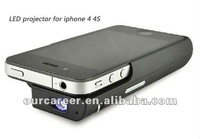 Sell Free shipping New design Pocket projector for iphone 4 4S only chargible projector for iphone 4 Mini project