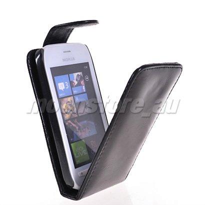 Чехол для для мобильных телефонов FLIP LEATHER CASE COVER POUCH FOR NOKIA LUMIA 710