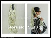 Fashion natural fluffly claw folder horsetail hai long straight ponytail hair Free shipping !