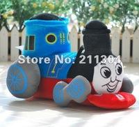 Free Shipping Top Sale Plush Toys Stuffed cartoon character Thomas The Tank Engine & Friends Thomas the train Small Size