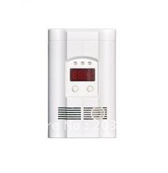 LED digital display carbon monoxide detector / standalone battery work carbon monoxide alarm/home use co detector/ free shipping(China (Mainland))