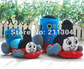 Large Size Free Shipping Top Sale Plush Toys Stuffed cartoon character Thomas The Tank Engine & Friends Thomas the train