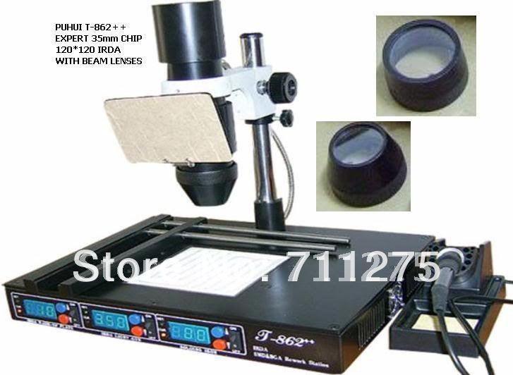 Infrared Rework Station t 862 t 862 Bga Irda Infrared ic