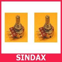 Потенциометр Sindax 1/4 , 100 1k 1.5k 2k 5k 10k 20k 30k 50k 100k 300k 470k 2 102