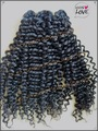 High quality 100% Malaysian virgin kinky curl hair wefts wholesale