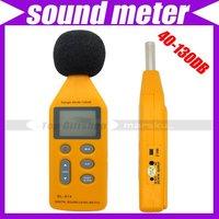 LCD Audio Digital Sound Noise Level Meter Decibel Pressure Measure Monitor 40-130DB Logger Tester #3088