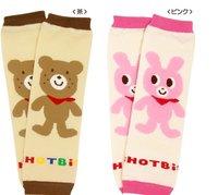 Baby girl Leg Protect Warm Leg Socks Cute 2 color bear 10PCS/set