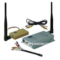 1.2G Hz 8CH Wireless Audio Video CCTV Transmitter Receiver 1.5W Free Shipping