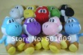 "Free Shipping EMS 50/Lot High Quality Soft Plush New Super Mario Bros Yoshi 7"" Plush Doll Soft Toy Wholesale"