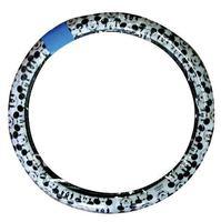 NAPOLEX Mickey Auto Car Steering Wheel holder Cover Case 36 - 37cm M Black + white