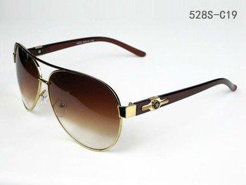 Dropshipping Hotselling Vogue Men's Brand Designer Fashion Sunglasses Sunglass Gold & Gradient Brown  528S-C19