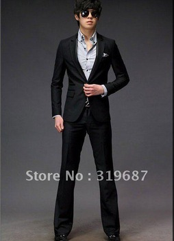 Free Shipping 2012 Men complete designer wedding Bridegroom suit/Groom wear /Tuxedo Clothes+Pants+tie