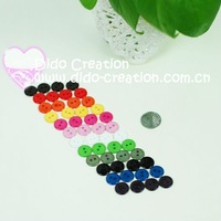 Free shipping 100 PCS Mixed Artificial craft buttons Fashion Accessories DIY Appliques
