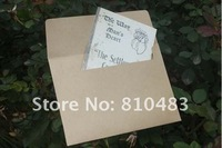Free shipping Wholesale 200pcs/lot 175*125mm   Kraft Paper Letter Envelope